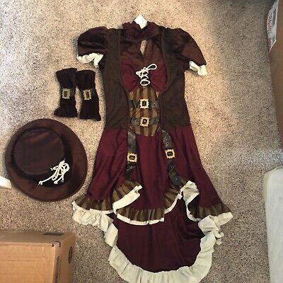 Steampunk Girl - Adult / Tween Costume](Tween Steampunk Costume)