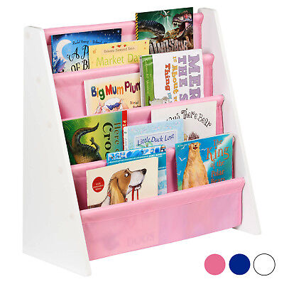 Hartleys Childrens Book Shelf Kids Bedroom/Play room Storage Bookcase Rack Tidy