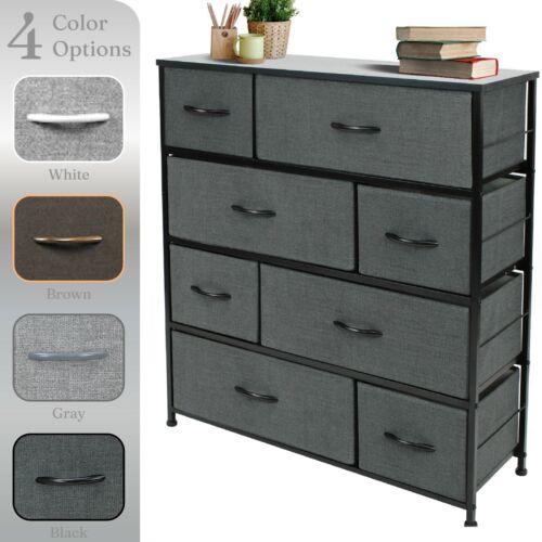 Sorbus Dresser w/ 8 Drawers - Furniture Storage Chest Organizer Unit for Bedroom