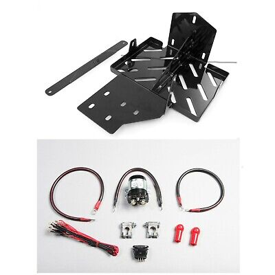2007-2011 Jeep JK Wrangler Dual Battery Tray/Relay Wiring Harness Kit