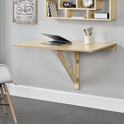 [en.casa]® Mesa Montada en la pared Abatible Plegable Mesa de cocina Escritorio