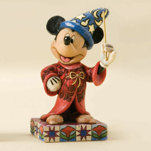 Jim Shore Disney Fantasia SORCERER MICKEY Touch of Magic Figurine 4010023 NEW