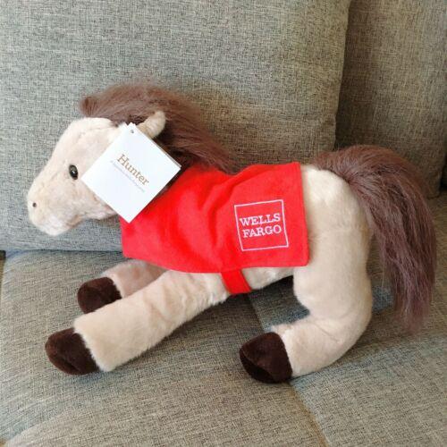 "Wells Fargo Legendary Pony HUNTER  Plush Stuffed Animal 14"" 2018"