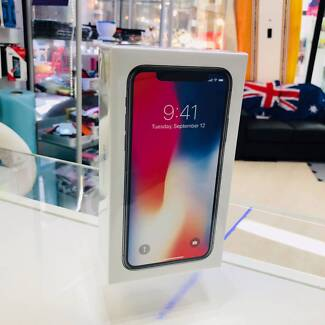 Brand new sealed iPhone x 10 64GB Gray unlocked 2 years warranty Surfers Paradise Gold Coast City Preview