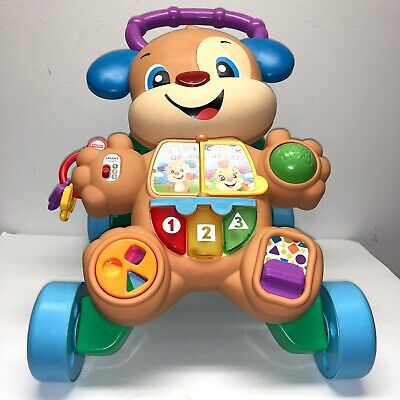 Fisher Price Laugh & Learn Puppy UNISEX Walker 6-36 Months 75+ Songs/Phrases