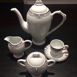 BRAND NEW Porcelain Tea Set - Made in Poland by Karolina
