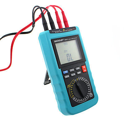 Digital Cable Resistance Tester 30km100000ft Cable Wire Length Test Meter