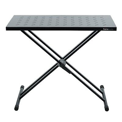 Gator GFW-UTL-XSTDTBLTOPSET DJ Keyboard Table Top w Double-X Style Stand Set