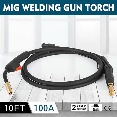 Miller Mig Welding Gun Torch Stinger 100a 10-ft Replacement M-100 M-10 248282