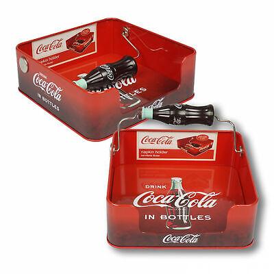 Coca Cola Napkin Dispenser Red