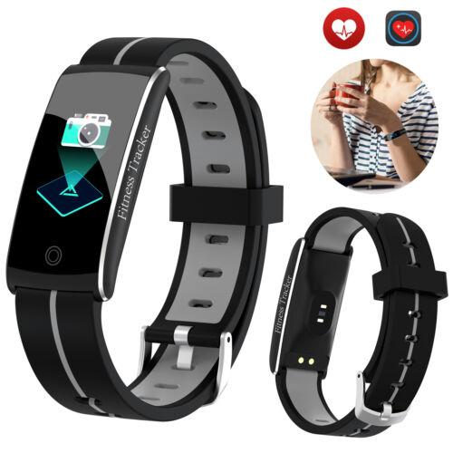Women Men TouchScreen Bluetooth Smart Watch Sports Heart Rat