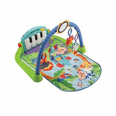 Fisher Price Baby Discover N Grow Kick And Play Piano Gym Green Toy New In Box