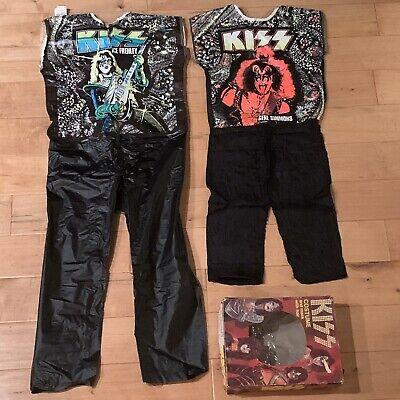 Vintage KISS Halloween Costumes - Gene & Ace - 1978