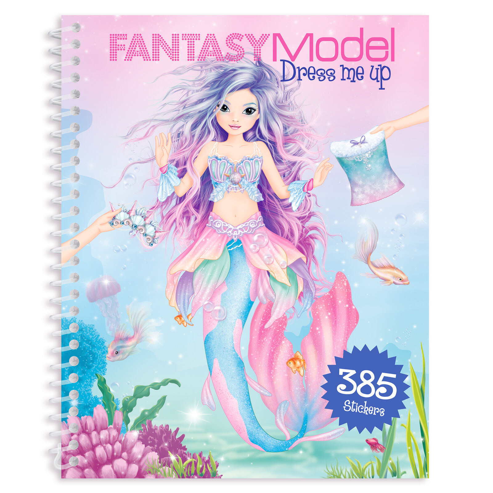 Fantasy Model Dress me up Stickerbook Malbuch TOPModel Depesche 385 Sticker