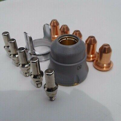12pc Un-shielded Tip Kit Everlast 50s52i60s62i Plasma Cutter Ipt 60 Torch