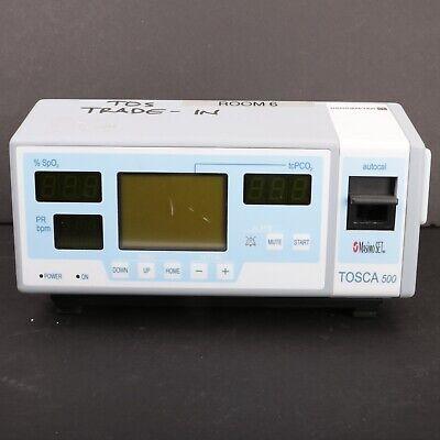 Radiometer Tosca 500 Masimo Set Spo2 Pulse Patient Tcspo2 Oximeter Co2 Monitor
