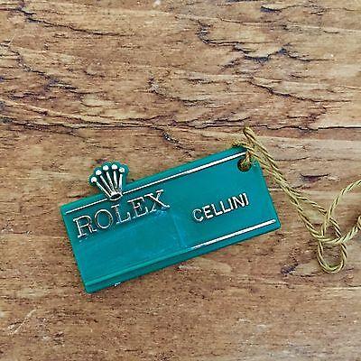 ROLEX Vintage Green Tag Hangtag Cellini Yellow Gold 4324 4670 King Midas 9768