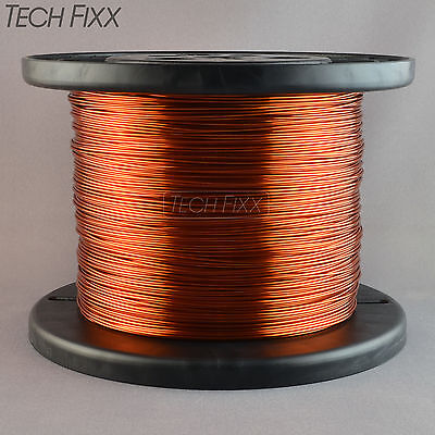 Magnet Wire 18 Gauge Enameled Copper 1220 Feet Coil Winding 6.13 Lbs Essex 200C