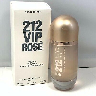 212 VIP Rose By Carolina Herrera EDP For Women 80ml/2.7fl.oz. New In Tst Box