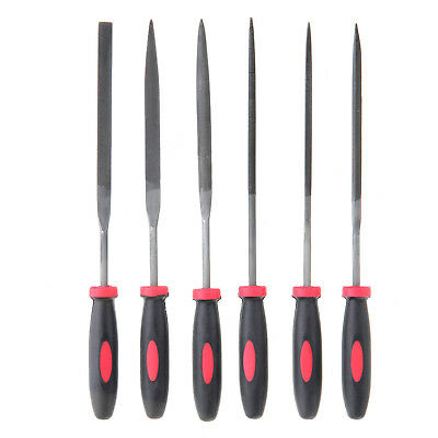 6pc Needle File Set for Jeweler Wood Carving Model Metal Glass Use