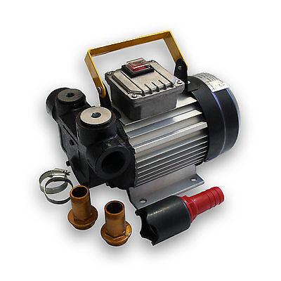 Selbstansaugende Bio Dieselpumpe für 20 - 60 L/min Heizölpumpe mit 230 V 550 W