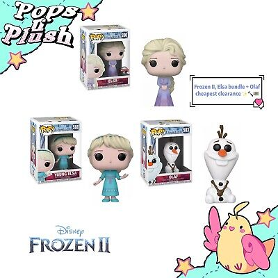 Pop Vinyl Frozen 2 - Elsa Bundle Set Of 3, Cheapest Clearance ✨