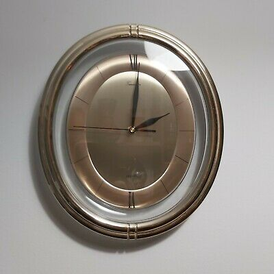 Retro Wall Clock by Timemaster Quartz Movement Good Working Order.