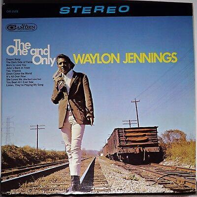 Waylon Jennings Willie Nelson Johnny Cash Huge Lot Of Nm Lps