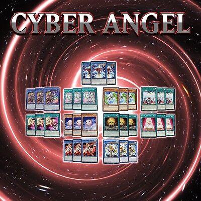 CYBER ANGEL DECK CORE | 33 Cards | LED4 YuGiOh IZANA EGG PETIT MERCIFUL MACHINE
