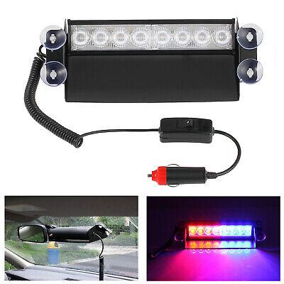 Luz de Emergencia Coche 8 LED Flash Luces Estroboscópica 3 Modo Intermitente...