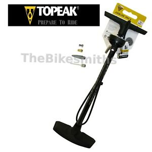Topeak Joe Blow Pro X 200psi Floor Pump Smarthead DX Presta & Schrader Bike