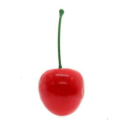 20Pcs Lifelike Fake Artificial Plastic Cherry Fruit Party Home Garden Decor New