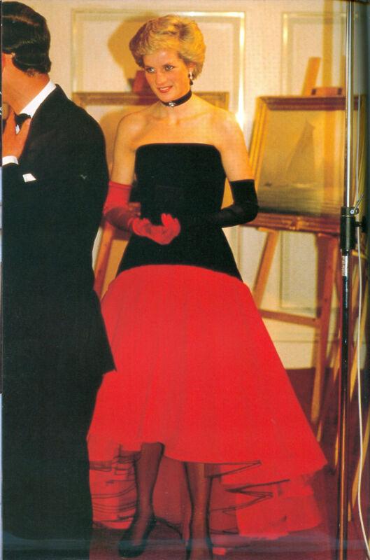 PRINCESS DIANA 10TH ANNIVERSARY PHOTO ALBUM BOOK HARDCOVER