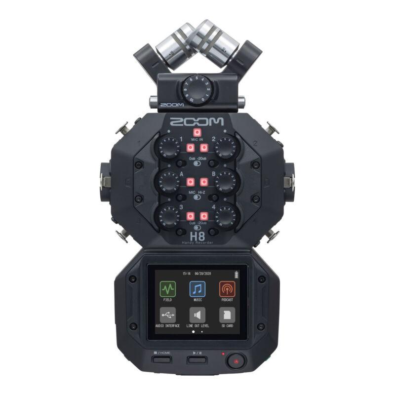 Zoom H8 12-Track Handy Audio Recorder