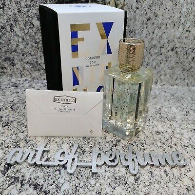 Ex Nihilo Cologne 352 Eau de Parfum EDP 3.3 fl.oz / 100 ml NEW WITH BOX!!!!
