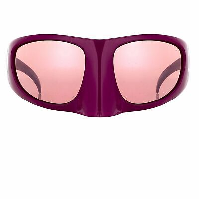 Bernhard Willhelm Sunglasses Mask Magenta