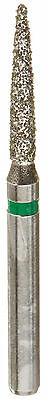 Supr Multi-use Diamond Burs Flame 862012c Coarse Grit 2 Packs Of 10 20 Burs