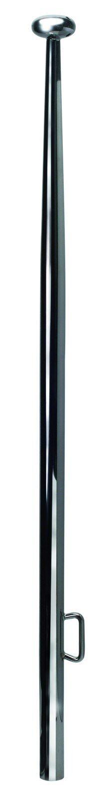 Ø 19mm 60° Winkel Wand-Halterung Flaggenstock-Fassaden-Halter Aluminium