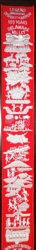 2015 NOAC Order of the Arrow 100th Anniversary OA Legend Strip - Boy Scouts