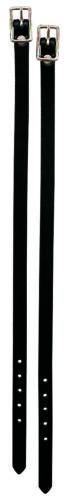 Weaver Leather English Spur Straps,30-0738-BK
