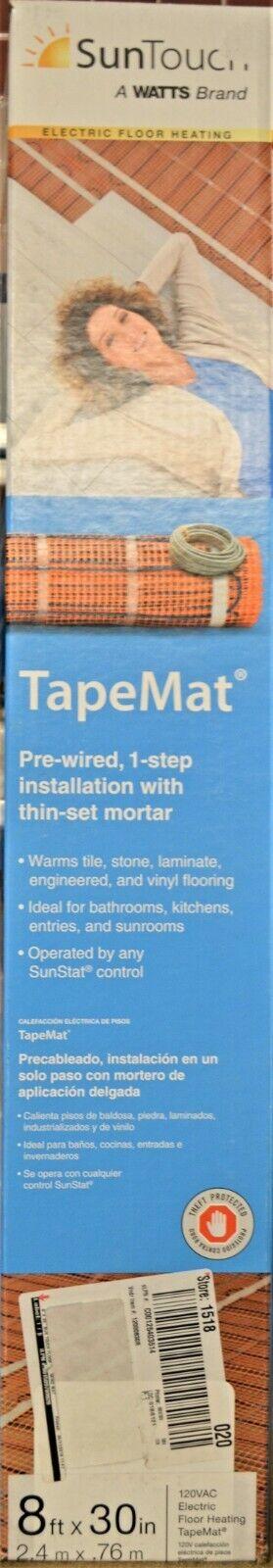 SunTouch #81010473 Floor Warming 8ft x 30in TapeMat - NEW