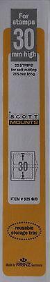2 Packages of Scott Mounts 30x215 in black