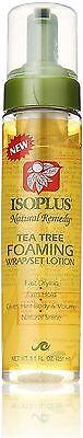 - Isoplus Natural Remedy Tea Tree Foaming Wrap/Set Lotion, 8.5 oz