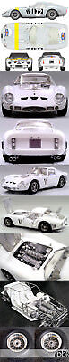 HIRO MFH 1/12 FERRARI GTO 250 GTO250 1964 TOUR DE FRANCE #172 BIANCHI/BERGER