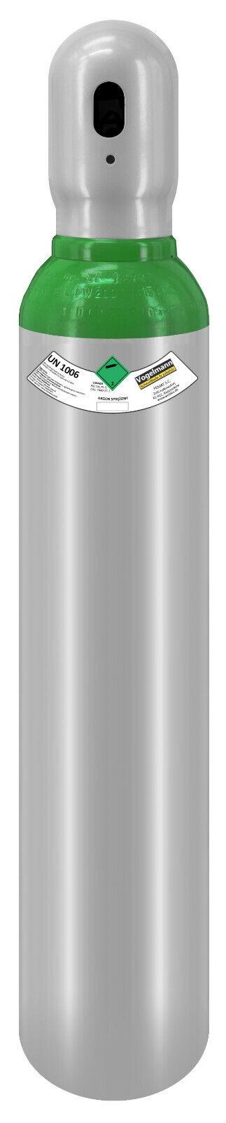 Gasflasche 8 Liter Argon 150bar voll 4.8 Schutzgas Schweißgas TIG WIG fabrikneu
