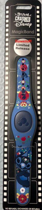 Disney Parks 2021 Stitch Crashes Disney Snow White Magic Band #8/12