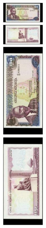 Kenya Jomo Kenyata 100 Shilingi 1978 Pick 18 Crisp Uncirculated