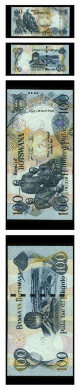 Botswana Sebele I, Bathoen I, Khama III 100 Pula 2005 Pick 26 Crisp Unc