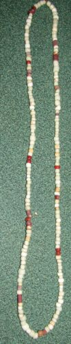 Indian Artifacts 192 Glass Trade Bead Necklaces Colusa, Cty California