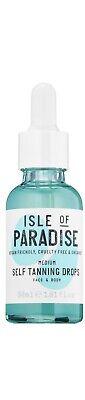 Isle of Paradise Self Tanning Drops in Medium Full Size 1.01 fl oz